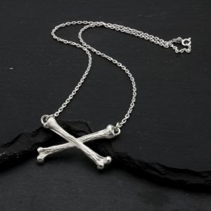 Cross Bone Necklace