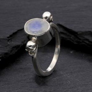 Moonstone Gothic Ring