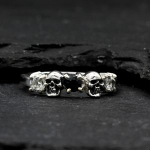Skull Wedding Ring