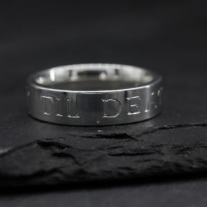 Til Death Wedding Ring