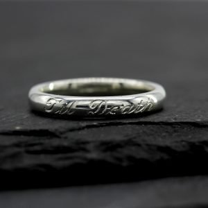 Women's Til Death Wedding Band